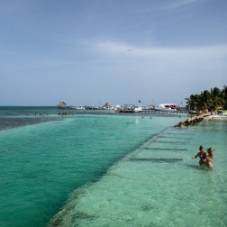 Chillin' at The Split | Caye Caulker, Belize