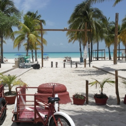 Playa Norte from the Street | Isla Mujeres, Mexico