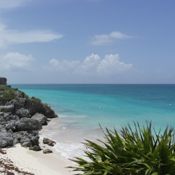 Mayan Ruins with Lucid Backdrop | Tulum