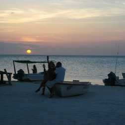 Serenading at Sunset | Holbox, Mexico