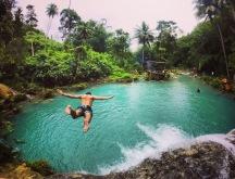 Siquijor | Flying at Cambugahay Falls