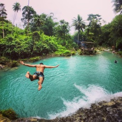 Siquijor | Flying at Cambugahay Falls