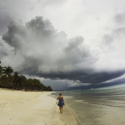 Bohol | Storms at Dumaluan Beach