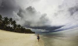 Bohol | Storms at Dumaluan Beach