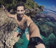 Siargao | Jumping into Magpupungko Pools