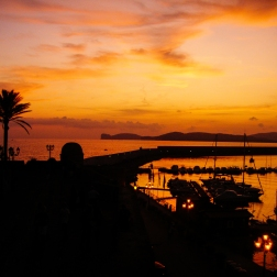 Sunset Over Alghero   Sardinia, Italy