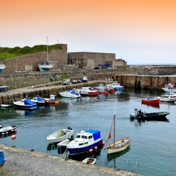 The Harbour at Sunset | Alderney, Channel Islands
