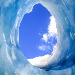 Through the Glacier   Franz Josef, New Zealand