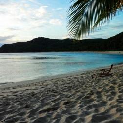 Tranquil Beach   Mantaray Island, Fiji