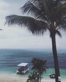 Bohol | Torrential Rain at Alona Beach
