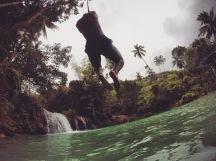 Siquijor | Rope Swing at Cambugahay Falls