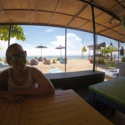Lunch at Blue Corner Dive Resort