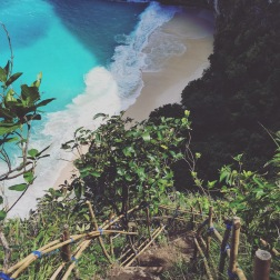 Views from the Descent at Kelingking Track, Nusa Penida
