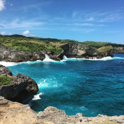 View from Angel's Billabong, Nusa Penida