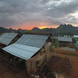 Village Sunrise | Htut Ni