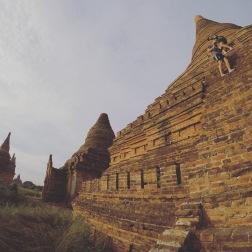 Climbing Low Ca Ou Shan | Bagan
