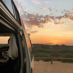 Christmas Eve Sunset Van | Osprey Bay, WA