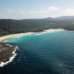 The View Back   Pretty Beach, NSW