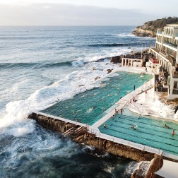 Morning Dips at Icebergs | Bondi, NSW