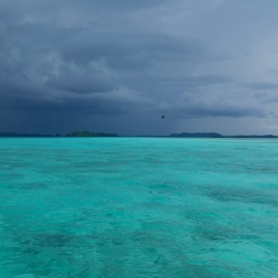 Storm Brewing in High Contrast | Munda, Solomons