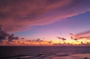 Pink Skies of Gizo, Solomon Islands