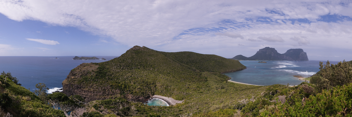 Panoramic view from Mt Eliza